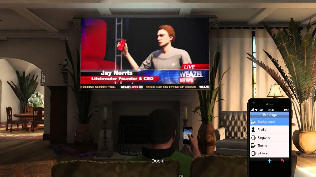 Grand Theft Auto V - Keynote/Jay Norris Death Scene