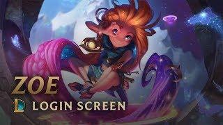Zoe, the Aspect of Twilight | Login Screen - League of Legends