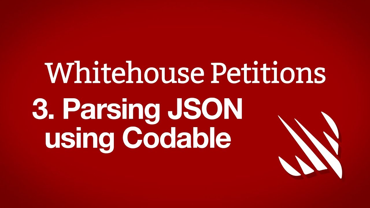 Parsing JSON using the Codable protocol - a free Hacking with Swift