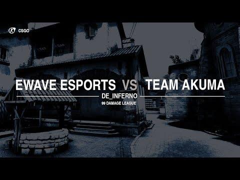 energy-WAVE e.V. vs.Team AKUMA 99Damage Liga Div. 3.14 Game 1