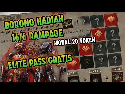 MODAL 20 TOKEN !! Bisa Dapat Elite Pass Gratis Hadiah Event 16/6 Rampage - FREE FIRE