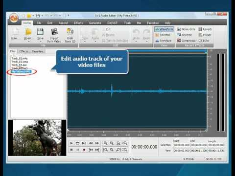 How to start working with AVS Audio Editor?