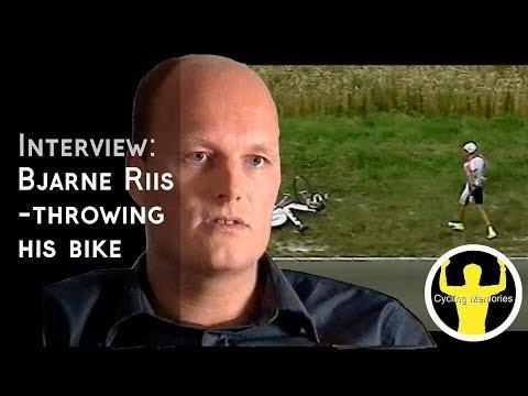 Interview: Bjarne Riis on his famous bike throw & troubles at Tour de France 97