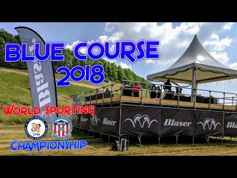 2018 World Sporting Championship Blue Course
