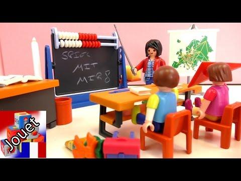 Ecole Playmobil français – Démonstration de la salle de classe 7486 (Playmobil en français)