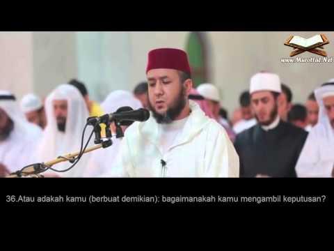 Surah Al-Qalam (17-52)  Mahjoub Belfkih Dengan Terjemahan Bahasa Indonesia
