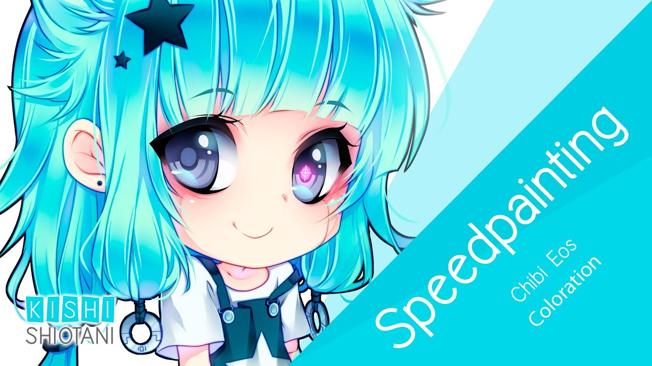 speedpainting coloration chibi eos youtube - Coloration Eos