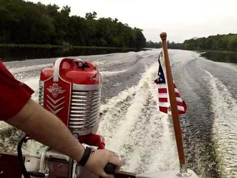 Mercury Mark 30 vs Johnson Antique Outboard on the Suwannee River