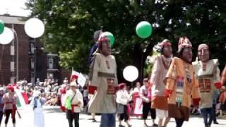 Fête de la Saint Jean à Montréal le 24 juin 2009, le défilé des géants