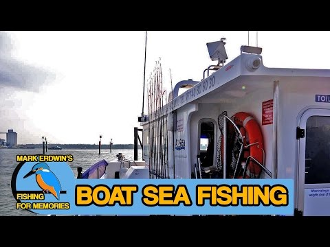 Sea Fishing - Boat Fishing Out Of Hythe Southampton (Video 55)