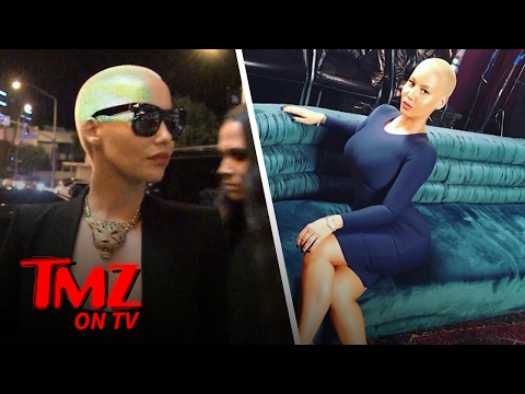 Amber Rose's Bizarre Break-In | TMZ TV