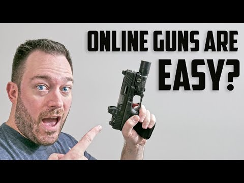 Buying Guns Online Is Easy?