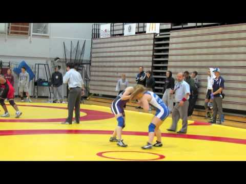 2012 McMaster Invitational: 51 kg Lindsay Whiting vs. Jade Papke