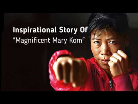 """Inspirational Life Story - Magnificent Mary Kom """"Boxer"""""""