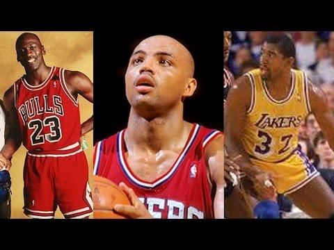 1990 NBA MVP - Michael Jordan, Charles Barkley, Magic Johnson, The Closest Race Ever