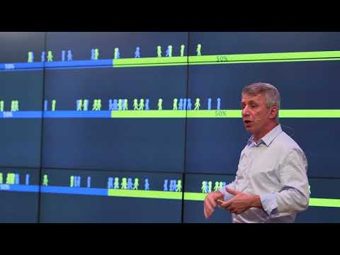 Quantifying which practices bring diversity in the workplace | Paolo Gaudiano | TEDxFultonStreet