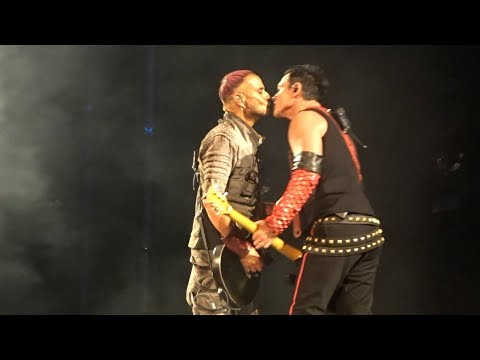 Landers And Kruspe Kissed Onstage To Show Support For LGBTQ+ Rights