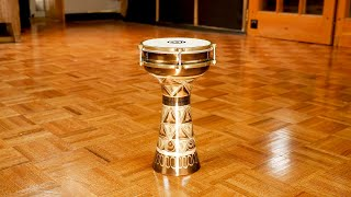 MEINL Percussion - Copper Darbuka, Hand Engraved - HE-204