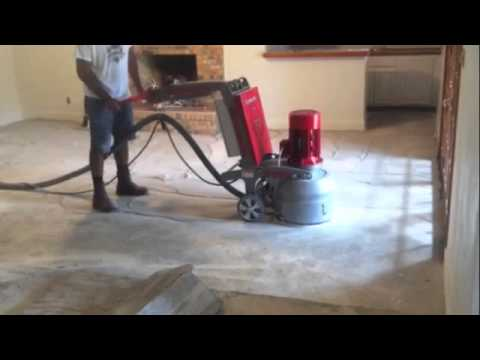 Concrete Grinding With
