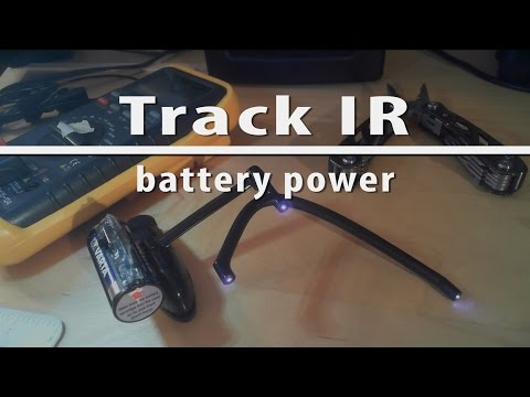 Battery powered TrackIR TrackClip Pro