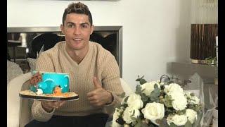 Ronaldo celebrates birthday with underwater-themed cake