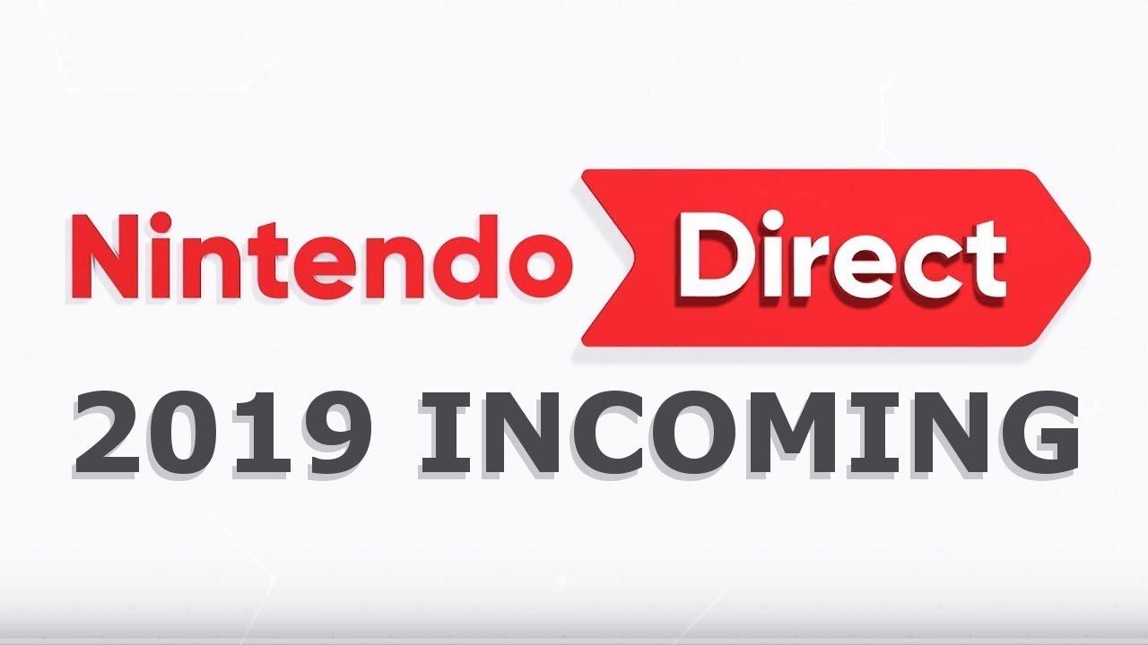 january 2019 nintendo direct incoming youtube