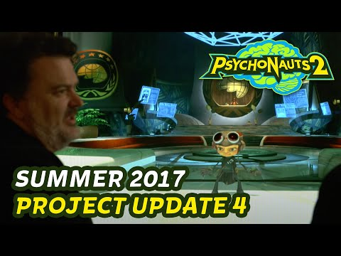 Psychonauts 2 // Redesigning Raz and Exiting Preproduction