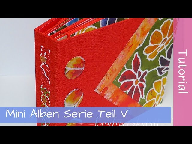 Mini Album Tutorial Series Part 5 - Hidden Hinge Bindung - Stampin' Up! - YouTube