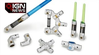 Star Wars: Hasbro Lets Fans Build Their Own Lightsaber - Ign News
