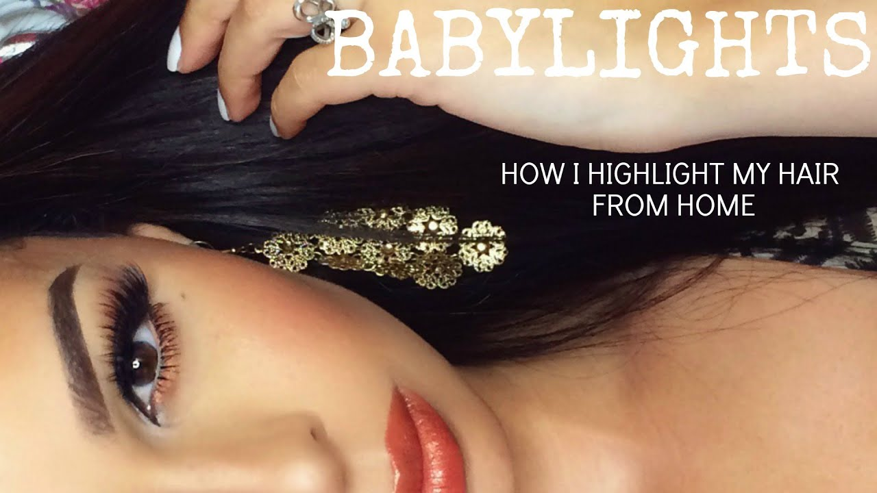 Babylights how i highlight my hair at home krystal allen youtube babylights how i highlight my hair at home krystal allen pmusecretfo Choice Image