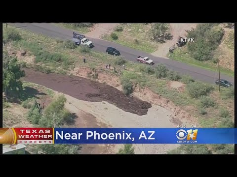 VIDEO: Phoenix Area After Monsoons