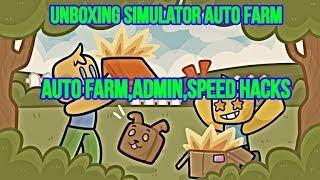 ROBLOX - UNBOXING SIMULATOR HACK,AUTO FARM,ADMIN,UNLIMITED COINS