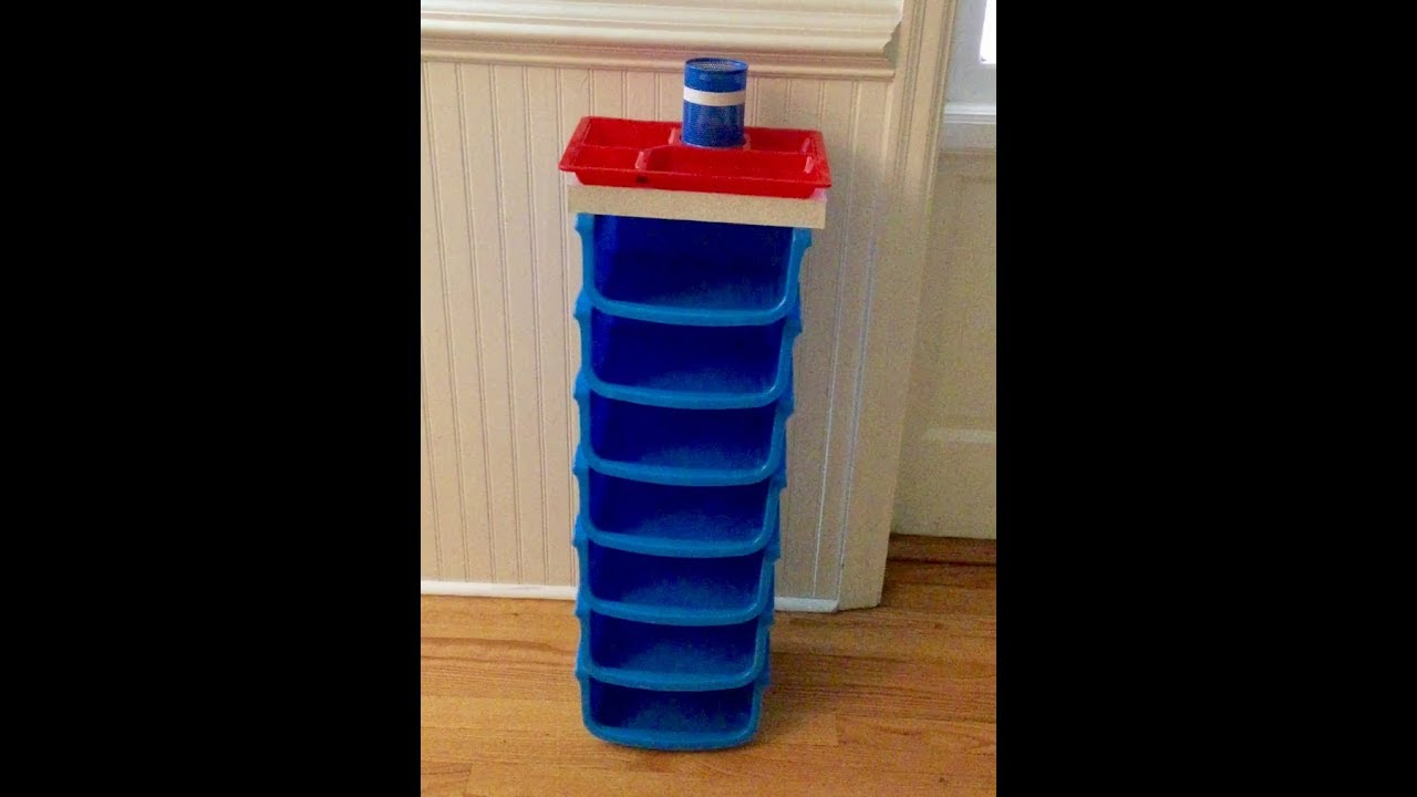 DOLLAR TREE DIY - SMALL SIDE TABLE OR SHOE RACK