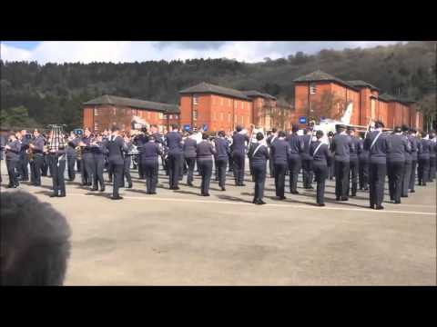 Air Cadets National Marching band 08.04.16