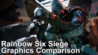 Rainbow Six Siege Ps4 Xbox One Pc Graphics Comparison