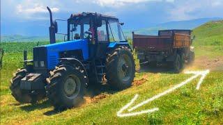 Трактор Беларус 1221 против УРАЛ 6х6
