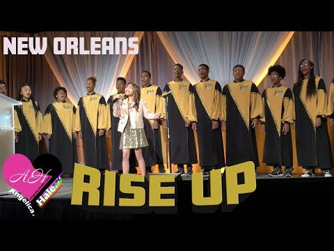 "Angelica Hale Singing ""Rise Up"" - 2018 Corp for Public Broadcasting (PBS) in New Orleans"