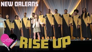 """Angelica Hale Singing """"Rise Up"""" - 2018 Corp for Public Broadcasting (PBS) in New Orleans"""