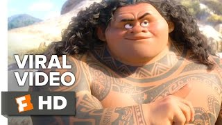 Moana VIRAL VIDEO - Mini Dwayne (2016) - Dwayne Johnson Movie