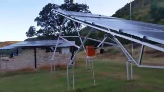Diy single axis solar tracker 2.0