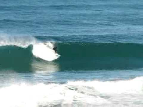Surfing Blackhead Dunedin
