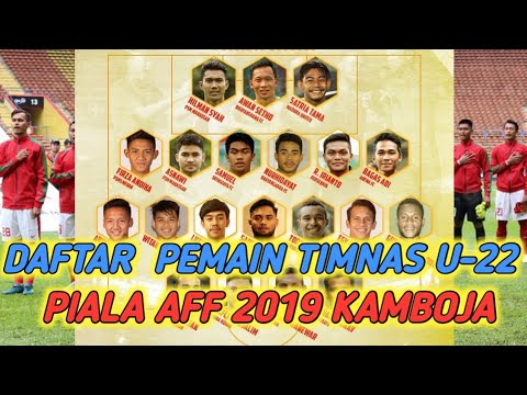 Daftar Pemain Timnas U-22 Piala AFF 2019 Kamboja