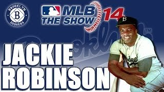 MLB 14 The Show Player Lock Legend: Jackie Robinson