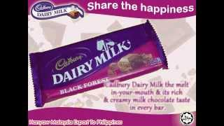 Cadbury Dairy Milk Black Forest | Hanyaw Malaysia Export To Philippines