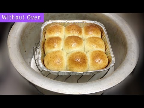 Dinner Rolls Without Oven - Soft Buns Recipe By Cooking Passion