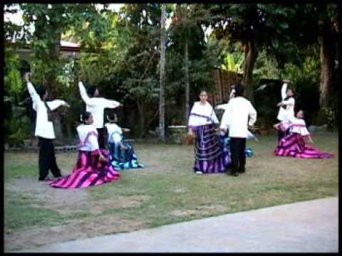 Philippine Folk Dance La Jota Moncadena