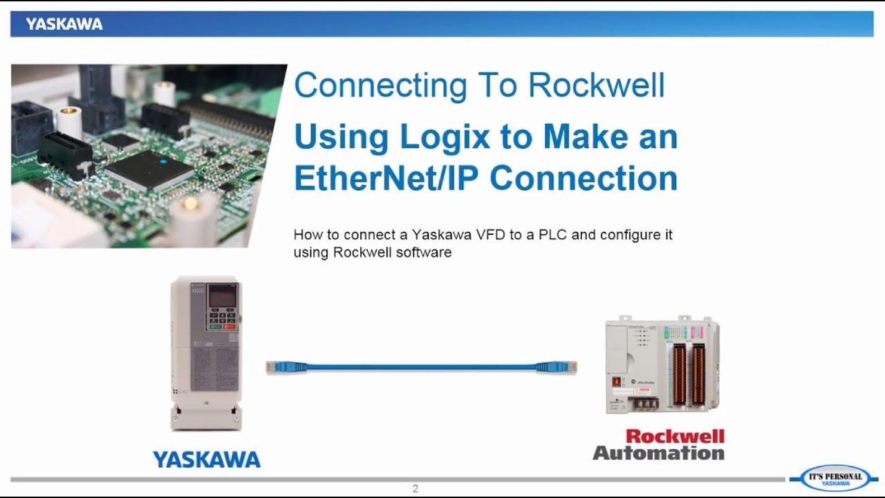 Connecting Yaskawa to Rockwell