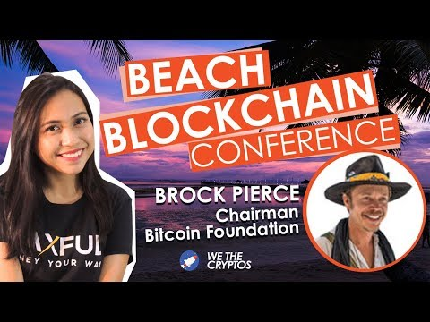 Beach Blockchain Conference with Brock Pierce