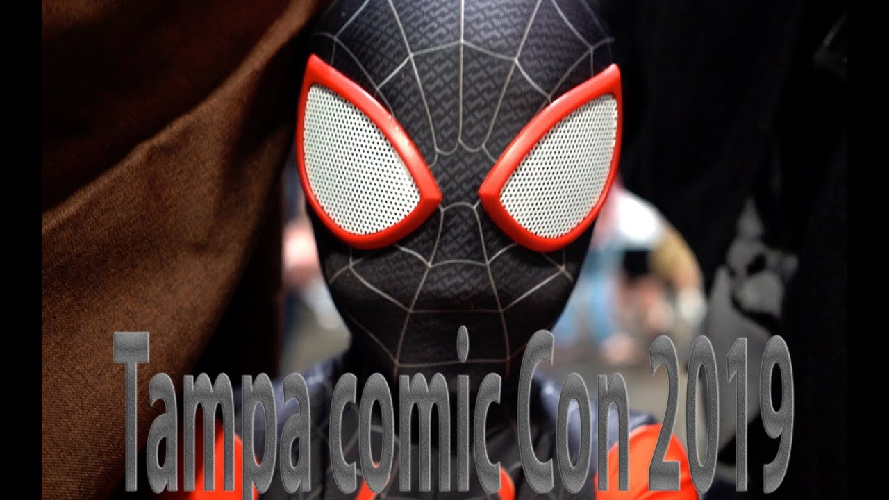 Best Tampa bay Comic Con 2019!!