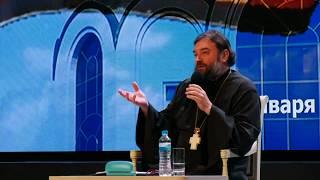 Протоиерей Андрей Ткачёв на Рождественских педагогических чтениях (январь 2020)